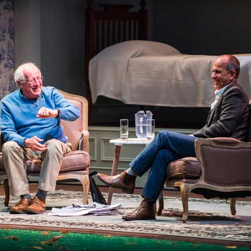 Robert Fisk and Peter Greste, 2017 Integrity 20 conversations