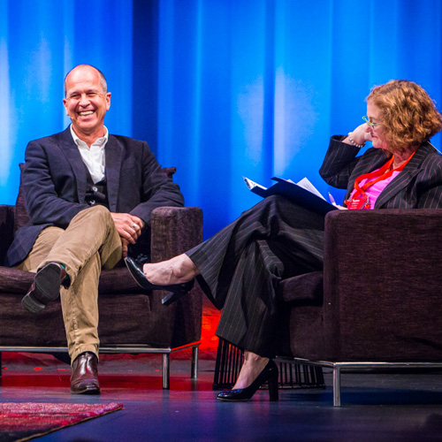 Peter Greste and Madonna King